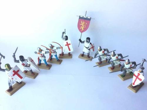 Soldaditos Medievales Pintados A Mano! Set X 10