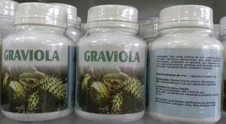 Graviola 60 Caps De 500 Mg