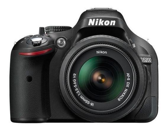 Câmera Nikon D5200 Kit18-55mm Vr Leia O Anuncio!