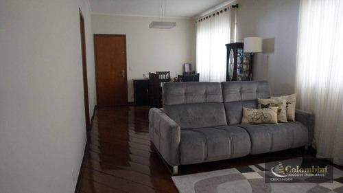 Imagem 1 de 12 de Apartamento Com 3 Dormitórios À Venda, 137 M² Por R$ 550.000,00 - Santa Paula - São Caetano Do Sul/sp - Ap1344