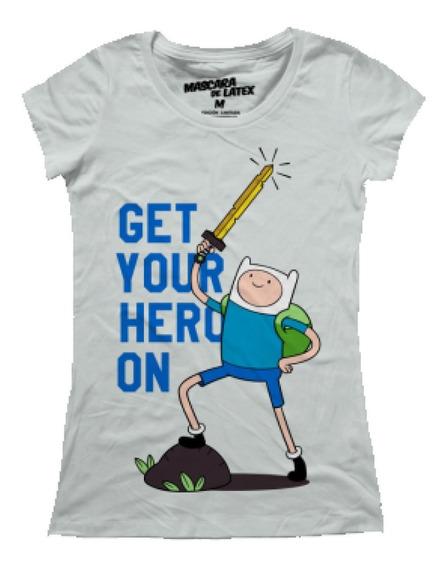 Get Your Hero On Mujer Máscara De Látex Adventure Time