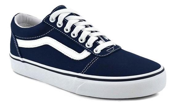 Zapatilla Vans Hombre Ward Azul/blanco