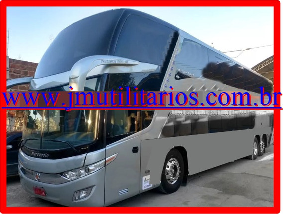 Marcopolo Paradiso Dd 1800 G7 Ano 2013 Scania K400 Jm Cod.29