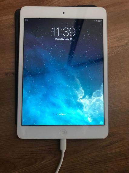 iPad Mini 1 32gb Com Capinha Frontal E Cabo Original Apple