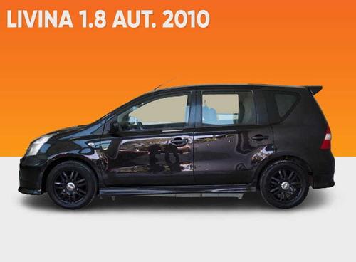 Nissan Livina 1.8 16v Flex 4p Aut