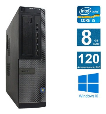 Computador Dell Optiplex 7010 I5 3º Geração 8gb 120ssd
