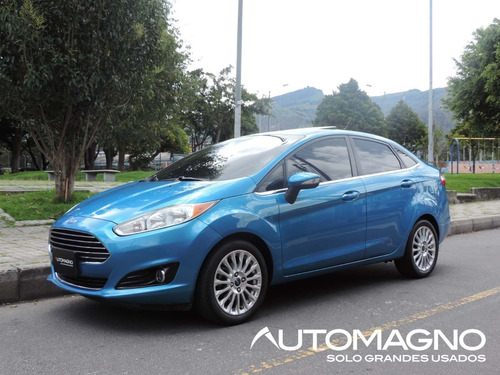 Ford Fiesta Titanium 1.6 At Ct