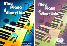Kit Meu Piano E Divertido Vol 1 E 2 Livro Partitura