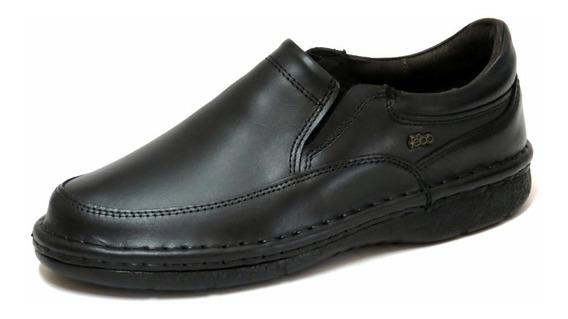 Zapatos Hombre Cuero Febo Comfort Elastico 39 Al 46 801