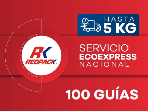 Imagen 1 de 1 de 100 Guías Prepagadas Ecoexpress Hasta 5 Kg