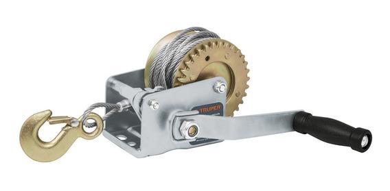 Malacate Manivela C/cable 300 Kg Truper A14719 Envío Gratis