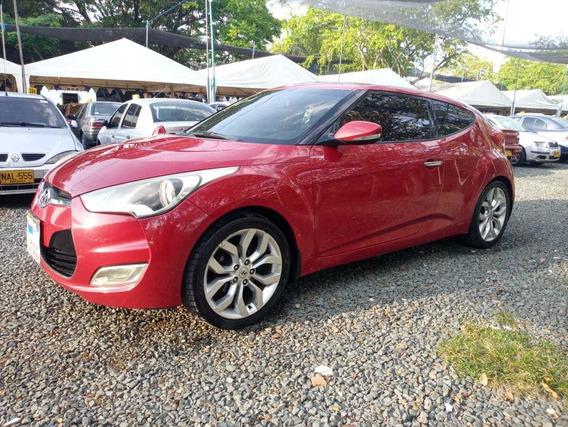 Hyundai Veloster 1.6 2012 Rojo 5 Puertas