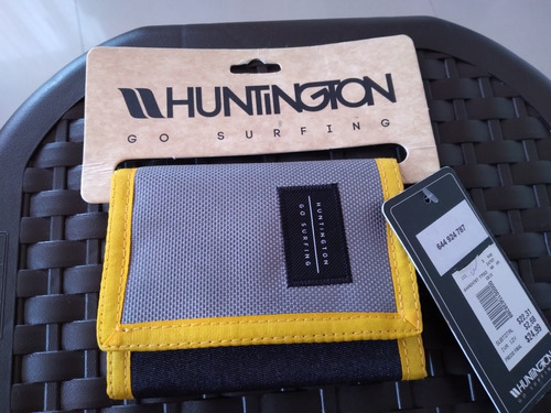Billetetera Nueva Huntington Original Material Calidad Fuert