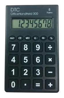 Calculadora Office Hand Held 300 Dtc