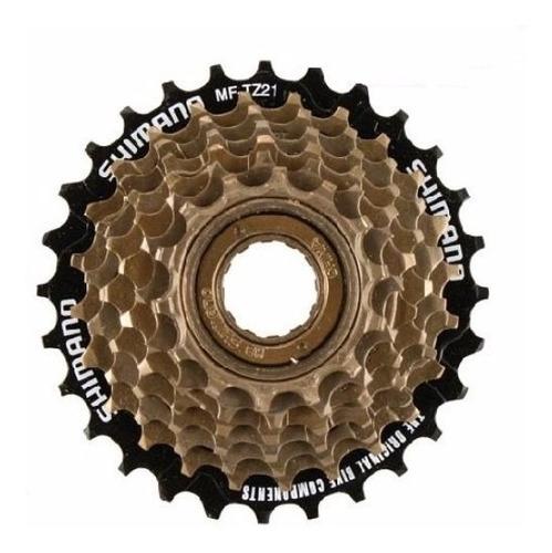 Imagen 1 de 1 de Piñón Para Bicicleta  Shimano Mf-tz500 - 7 Coronas A Rosca