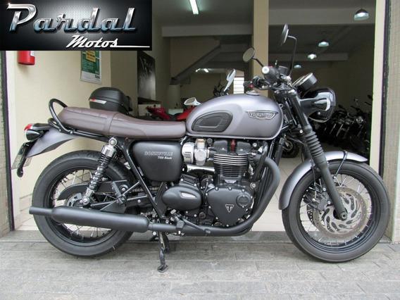 Triumph T 120 Black 2018 Cinza