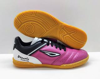 Tênis Futsal Diavolo Phantom Couro Legítimo