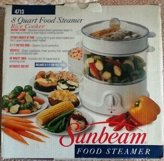 Sunbeam 8 Cuartos De Vapor De Alimentos