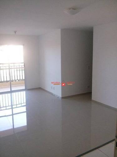 Apartamento Com 3 Dormitórios À Venda, 67 M² Por R$ 320.000,00 - Jardim Albertina - Guarulhos/sp - Ap0074