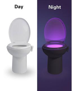 Luz Led Con Sensor De Movimiento Para El Inodoro