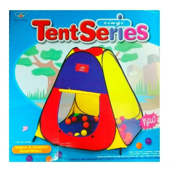 Casita Carpa Tent Series Infantil Para Niños 6038