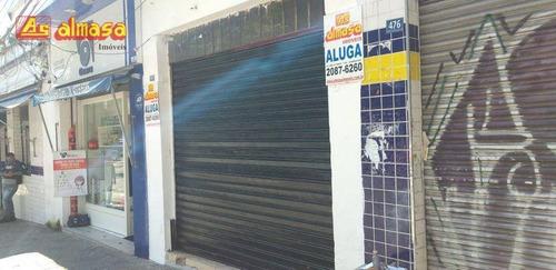 Imagem 1 de 7 de Salão Para Alugar, 50 M² Por R$ 3.000,00/mês - Centro - Guarulhos/sp - Sl0045
