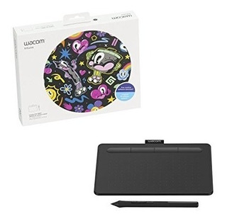 Tablet Wacom Intuos Basic Small Pen Cableado Usb Ctl4100