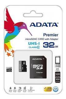 Adata Ausdh32guicl10-ra1, Memoria Micro Sdhc 32 Gb C/adaptad