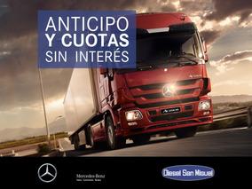 Camión Mercedes Benz Actros 2041/45 0km Año 2016