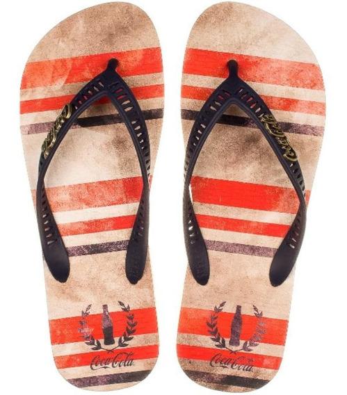 Chinelo Coca Cola Shoes Cc2642 Dedo Masculino