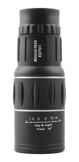 Telescópio Monocular Duplo Foco Zoom 16 X 52