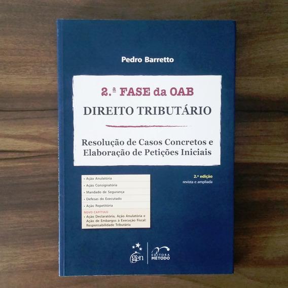 Segunda Fase Da Oab - Direito Tributário - Leia Descrição