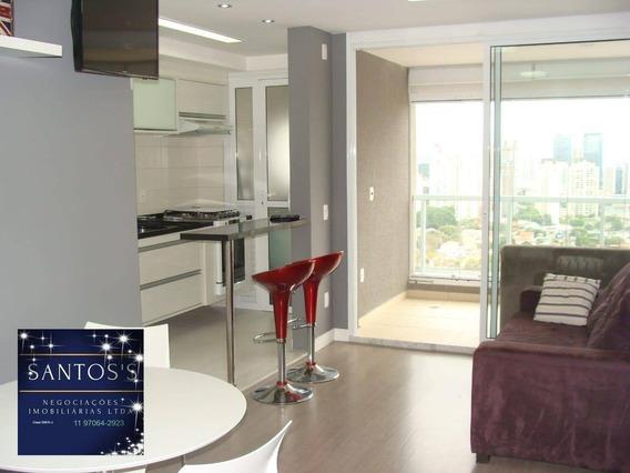 Apartamento Com 1 Dormitório À Venda, 45 M² Por R$ 653.000 - Brooklin - São Paulo/sp - Ap1817