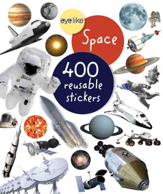 Space - 400 Reusable Eyelike Stickers