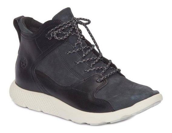 Bota Timberland Flyroam Leather Hiker Preta Original
