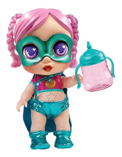 Super Cute Muñecas Heroínas Biberón C/luz Next Point Cuotas