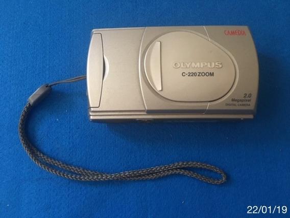 * Olympus C-220 Zoom - Cartão Com Defeito *