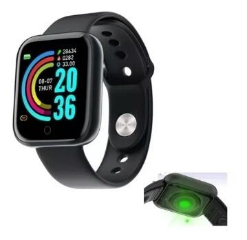 Promoção Relógio Inteligente Smartwatch Henro 3 Y68 Vs B57