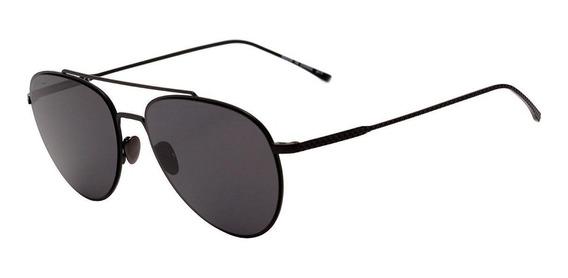 Lacoste L 195 S - Óculos De Sol 002 Preto Fosco/ Preto