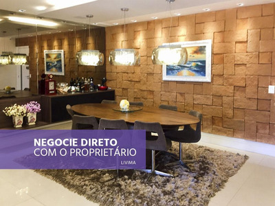 Lindo Apartamento, 4 Suítes, À Venda Na Praia De Charitas, Niterói - Rj - Ap0465