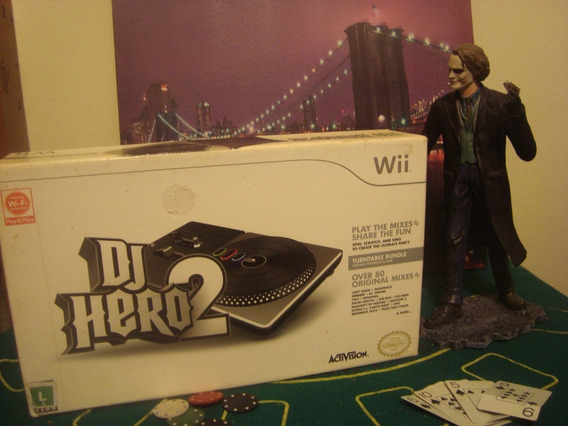 Kit Dj Hero Nintendo Wii