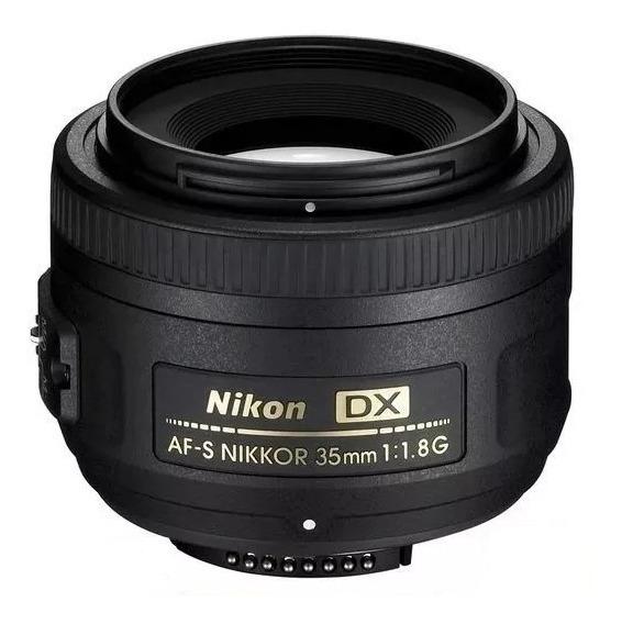 Lente Nikon 35mm F/1.8g Af-s Dx Nota Fiscal