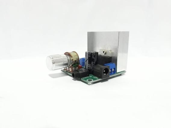 Amplificador De Áudio 12v Tda7297 2x15w