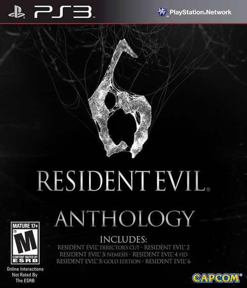 Resident Evil Anthology - Midia Digital Original