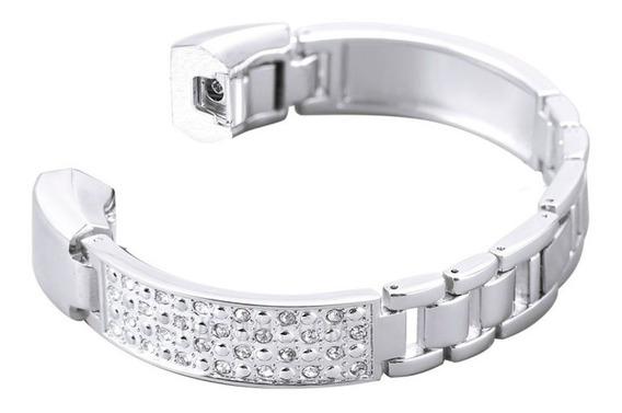 Correa Fitbit Alta Hr Con Diseño De Formas De Diamante