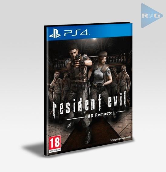 Resident Evil 1 Hd Ps4 Envio Agora