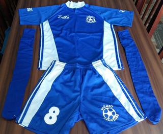 Fardamento Futebol 11 Peças Completas + 1 Camisa Extra