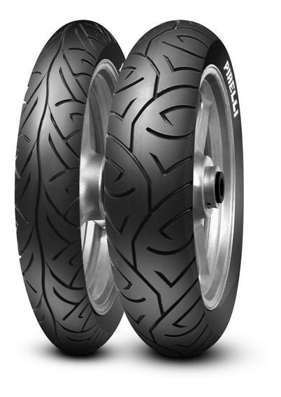 Par Pneu Pirelli Sport Demon Fazer250 100/80-17 E 130/70-17