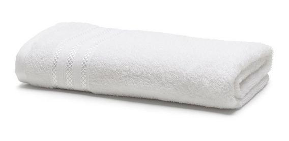Toalha De Banho Royal Patter Branca Santista