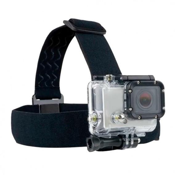 Acessório Para Câmera De Ação Suporte P/ Cabeça Atrio Es072